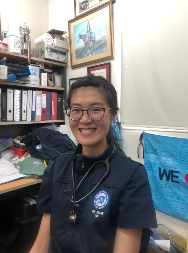 Dr Jamie Lui is our first intern to join us in 2020